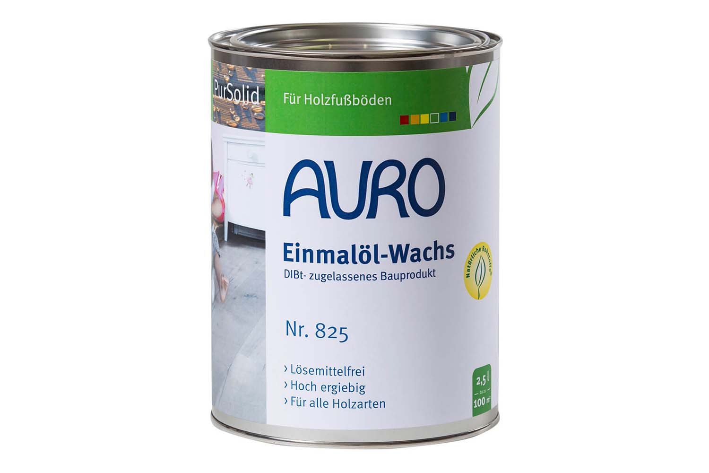 Auro Einmalöl-Wachs Nr. 825 (DIBt-zugelassenes Bauprodukt)