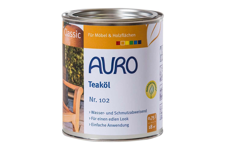 Auro Gartenmöbelöl Classic Nr. 102 - Teaköl