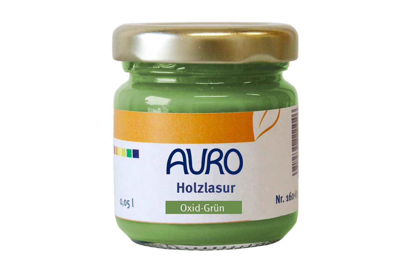 Auro Holzlasur Aqua Nr. 160 - Oxid-Grün