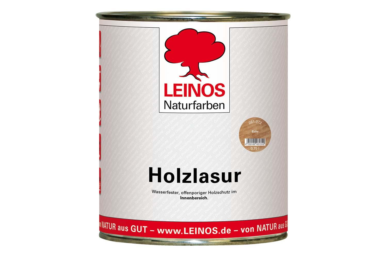 Leinos Holzlasur für innen 261 Eiche