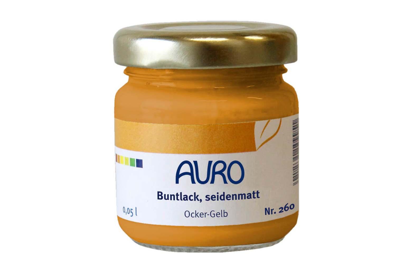 Auro Buntlack seidenmatt Nr. 260 - Ocker-Gelb