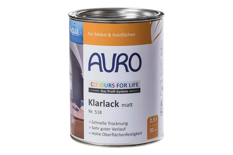 Auro Klarlack matt Nr. 518 Colours for Life