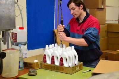 Biofa-Produktion in Bad Boll