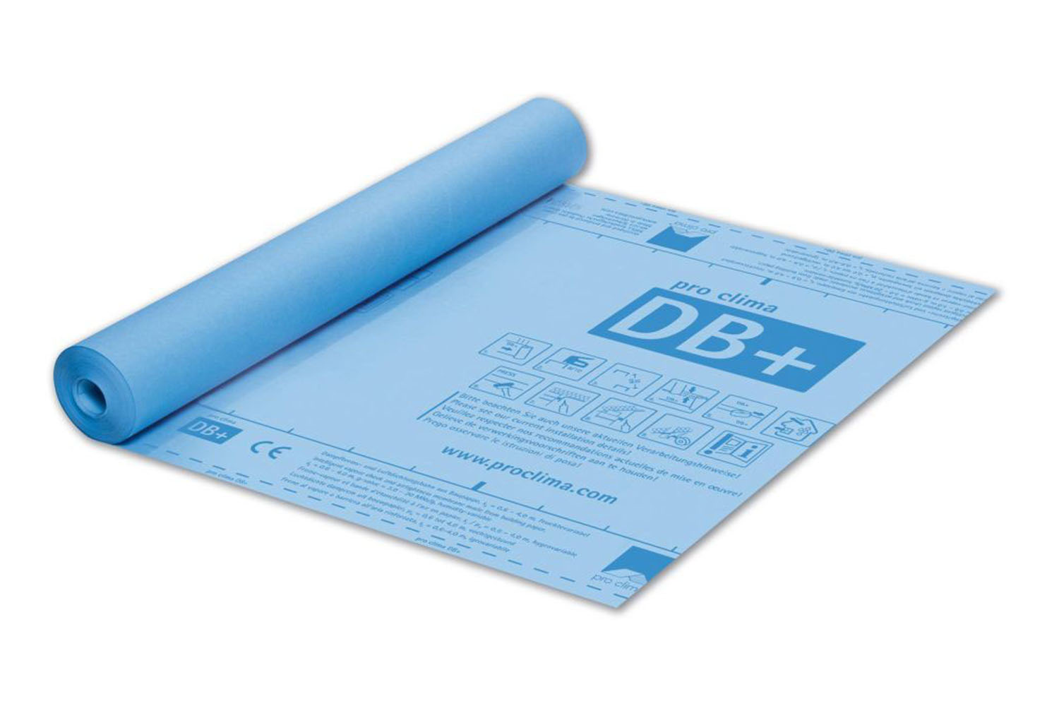Pro Clima DB+ Hydrosafe Dampfbremse aus Baupappe