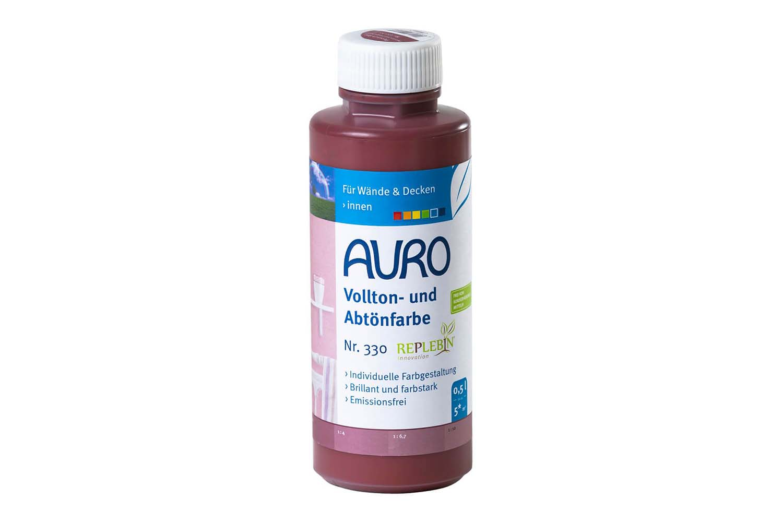 Auro Vollton- und Abtönfarbe Nr. 330 - Persisch-Rot