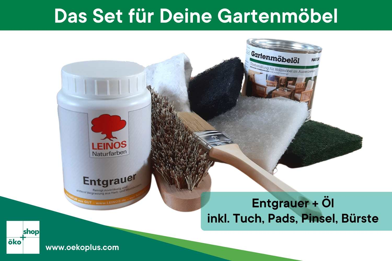 Pflege- und Reinigungsset für Deine Gartenmöbel