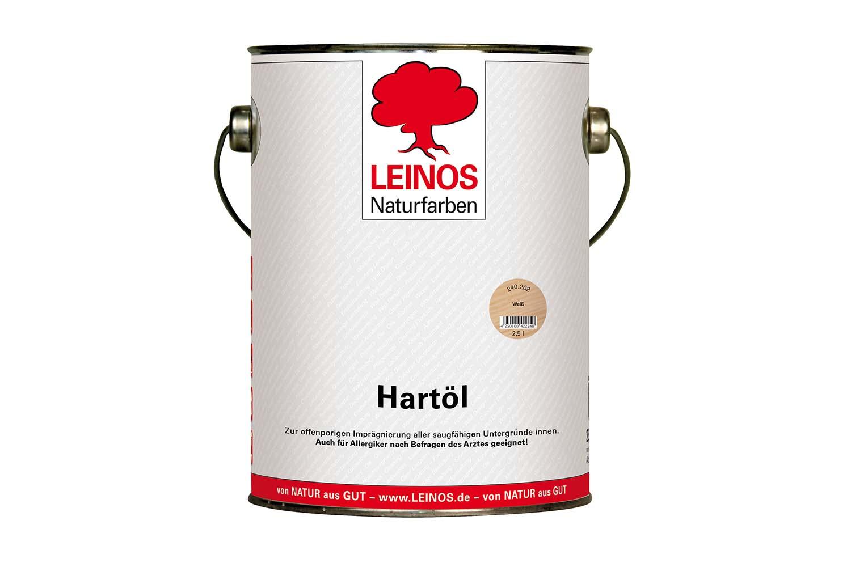 Leinos Hartöl 240 Weiß