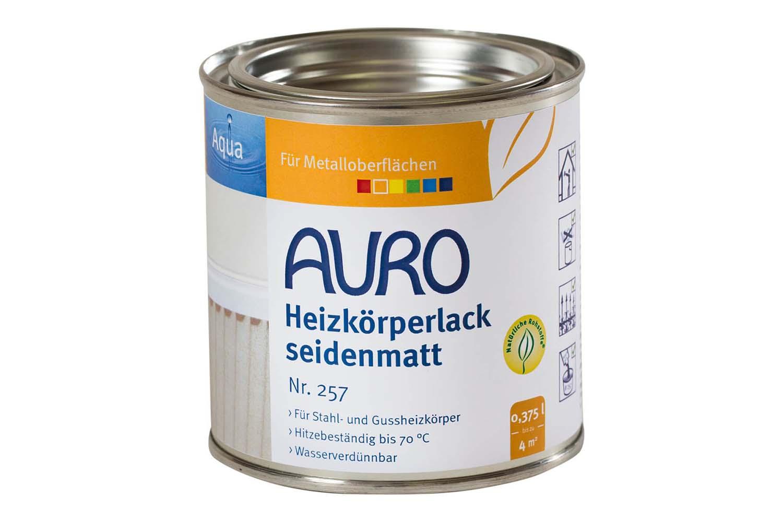 Auro Heizkörperlack seidenmatt Nr. 257 - Weiß