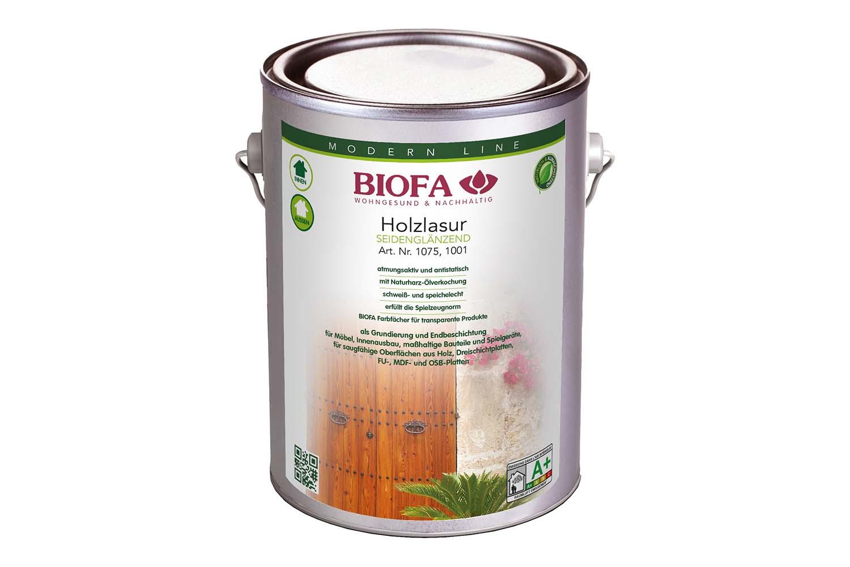 Biofa Holzlasur, lösemittelhaltig, farblos