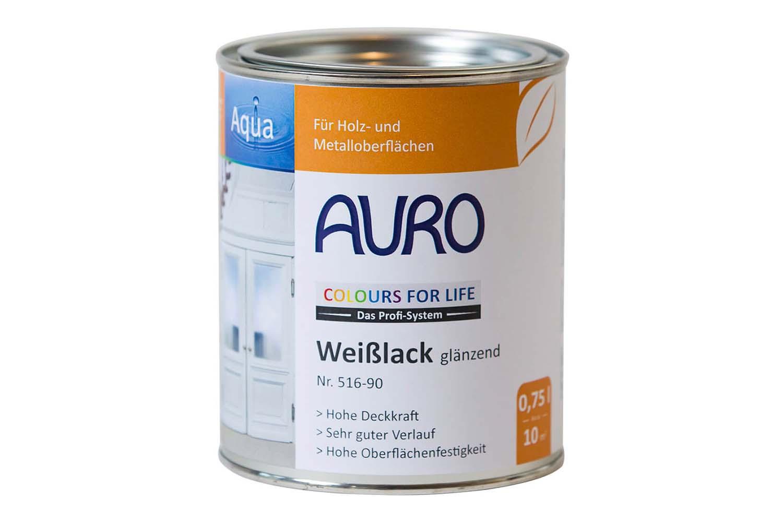 Auro Weißlack glänzend Nr. 516 Colours for Life