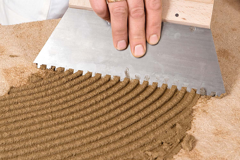 Claytec Lehmklebe- und Armiermörtel