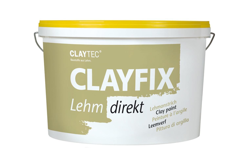 Claytec CLAYFIX Lehm-Anstrich WE 0