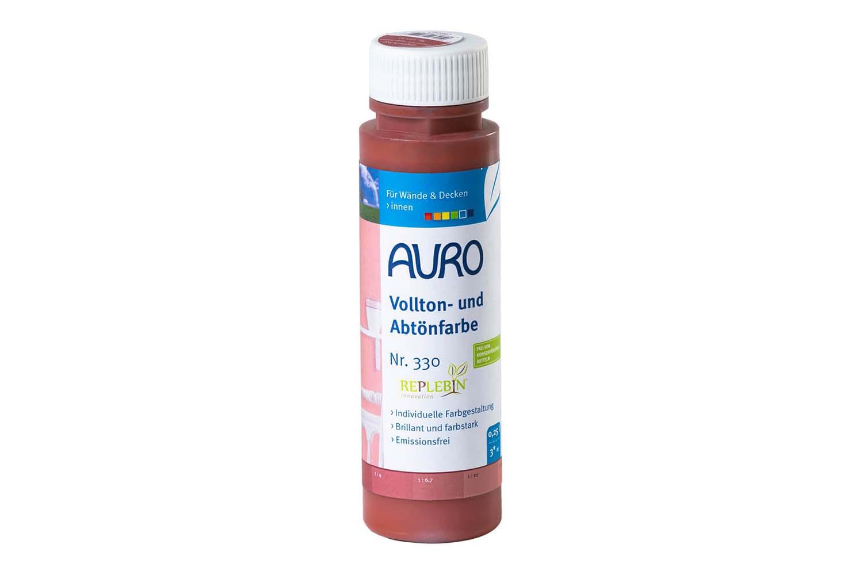 Auro Vollton- und Abtönfarbe Nr. 330 - Englisch-Rot