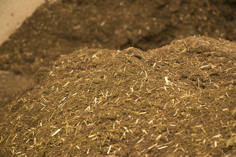 Loser Lehm mit Strohzuschlag