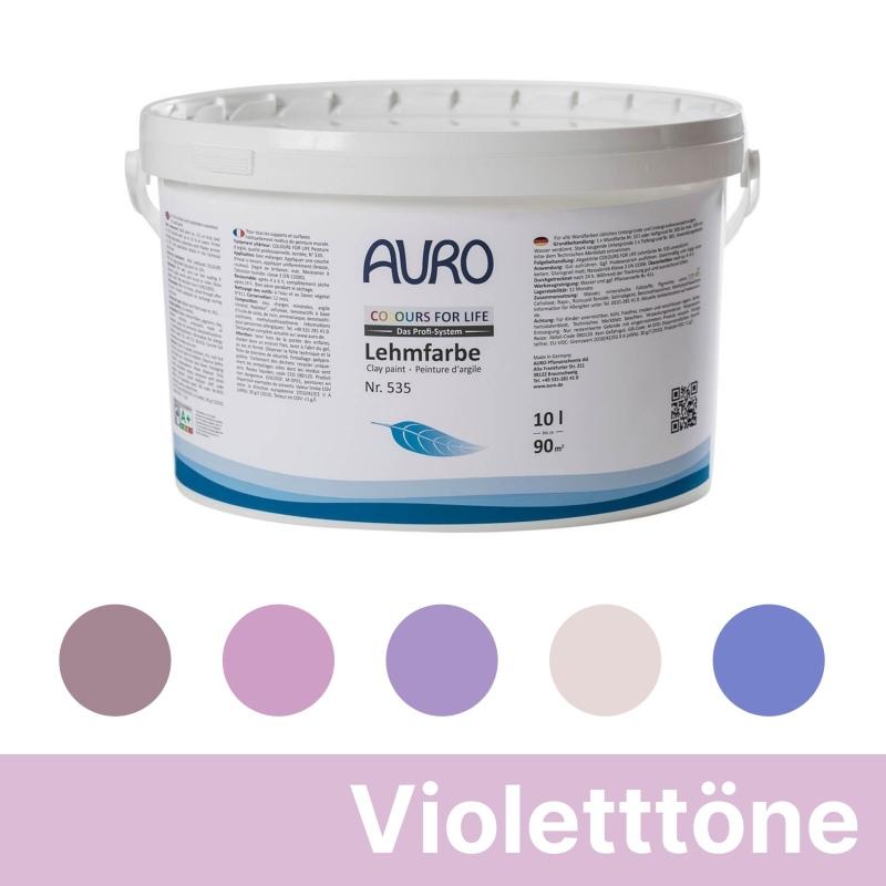 Auro Colours for Life Lehmfarben - Violett