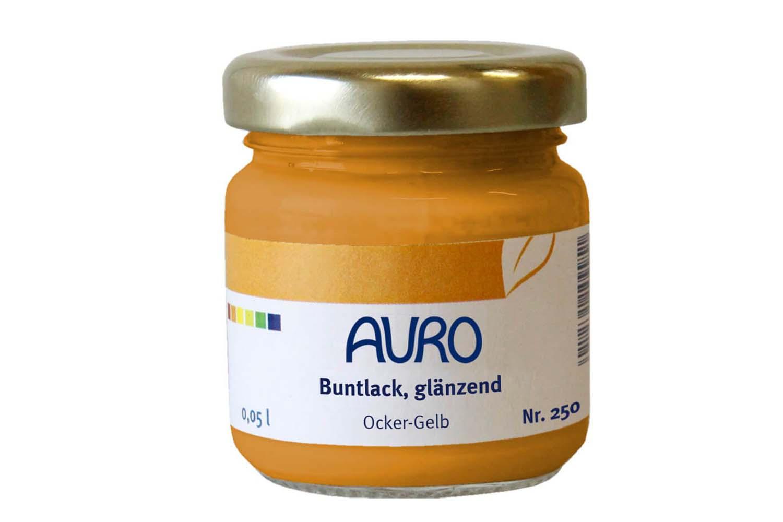Auro Buntlack glänzend Nr. 250 - Ocker-Gelb