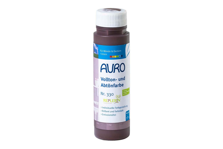 Auro Vollton- und Abtönfarbe Nr. 330 - Eisenoxid-Braun