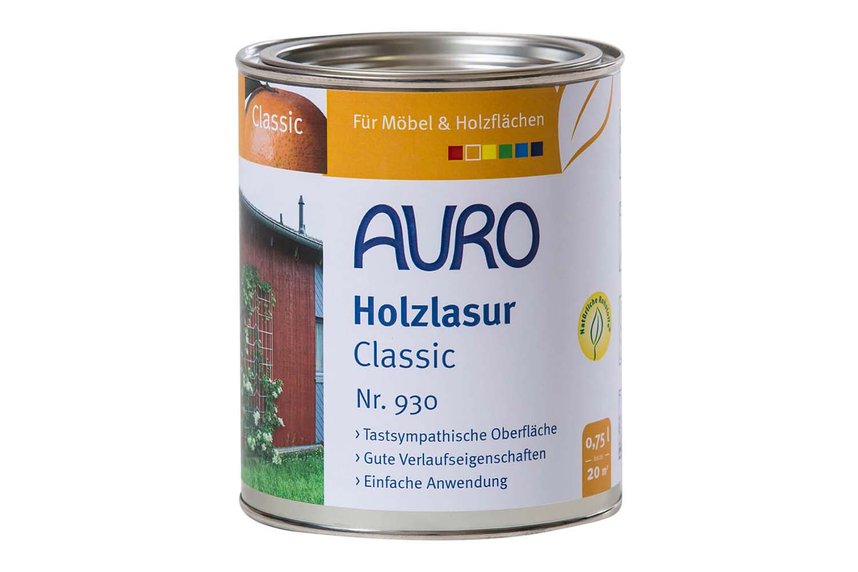 Auro Holzlasur Classic Nr. 930 - Umbra