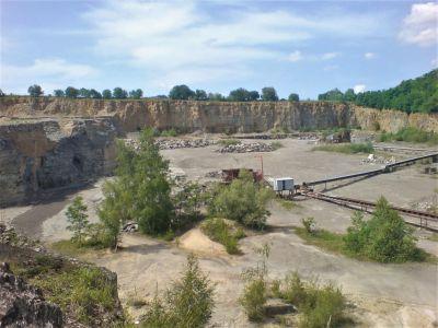 Steinbruch in Wiesloch