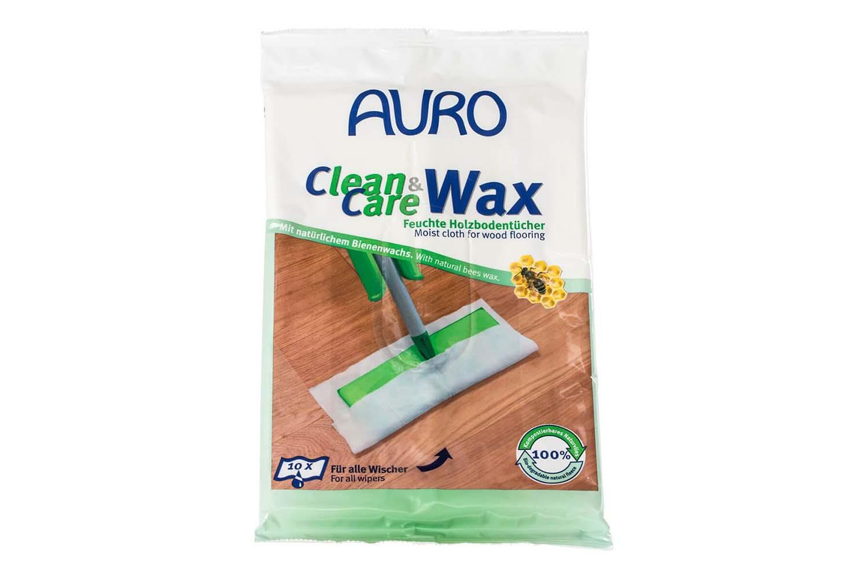 Auro Clean & Care Wax Nr. 680 - Feuchte Holzbodentücher