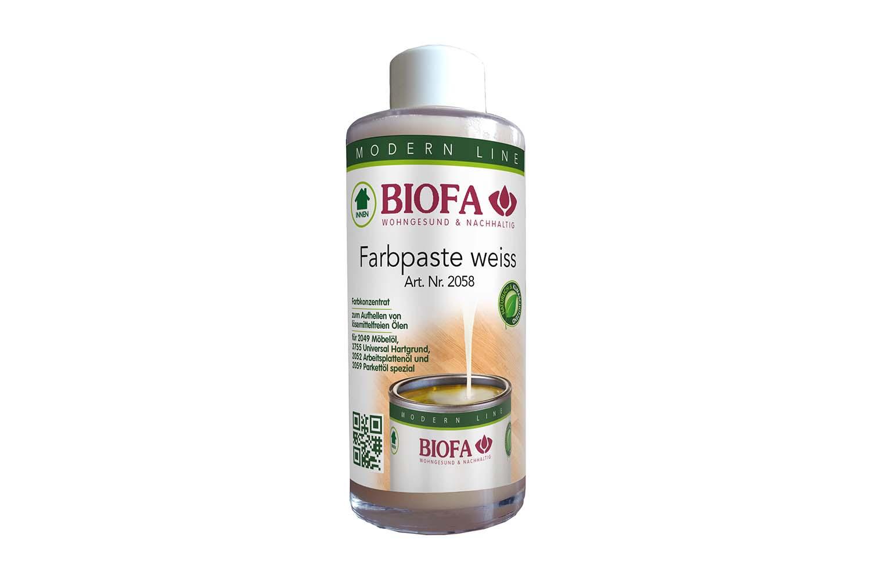 Biofa Farbpaste weiß