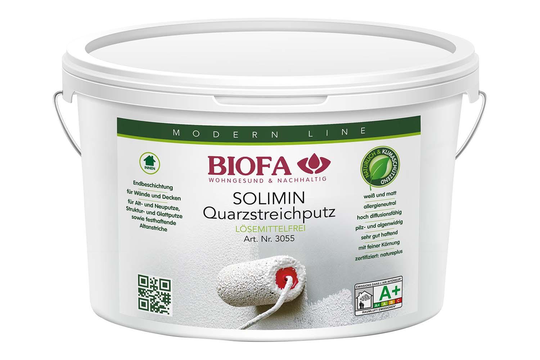 Biofa SOLIMIN Quarzstreichputz, weiß
