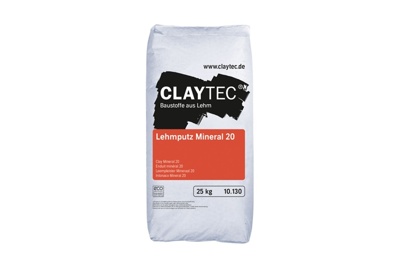 Claytec Lehmputz Mineral 20