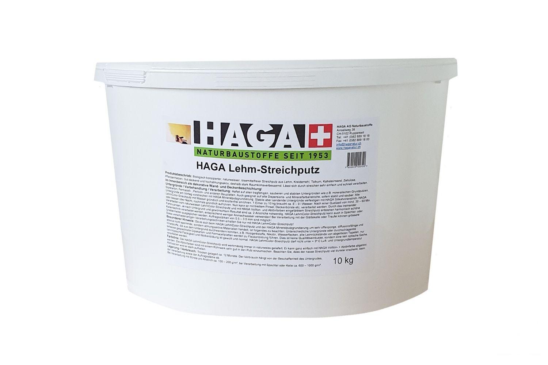HAGA Lehm-Streichputz naturweiss