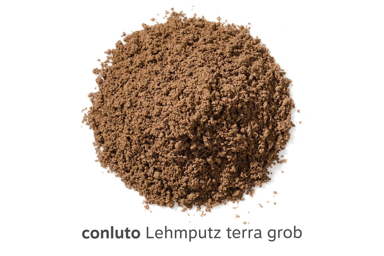 conluto Lehmputz terra grob