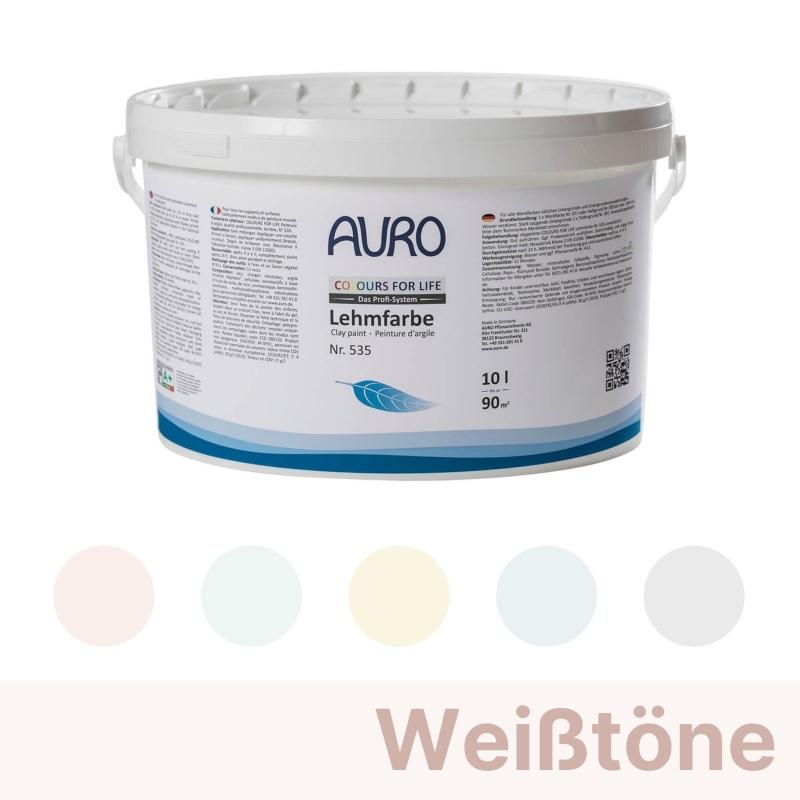Auro Colours for Life Lehmfarben - Weiß