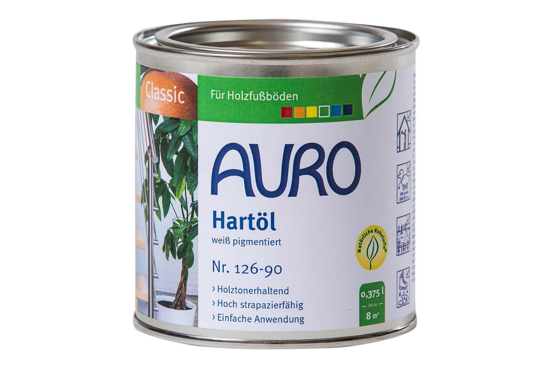 Auro Hartöl Nr. 126 - Weiß pigmentiert