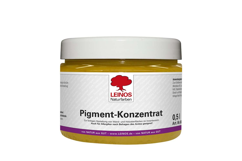 Leinos Pigment-Konzentrat 668 Ocker-Gelb