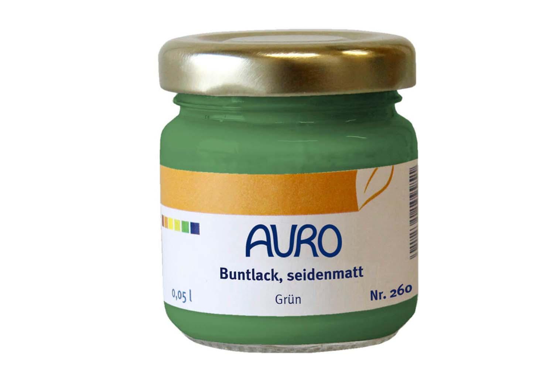 Auro Buntlack seidenmatt Nr. 260 - Grün