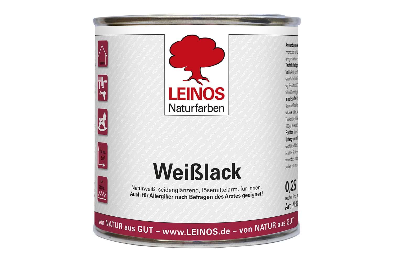 Leinos Weißlack 820 Seidenglänzend