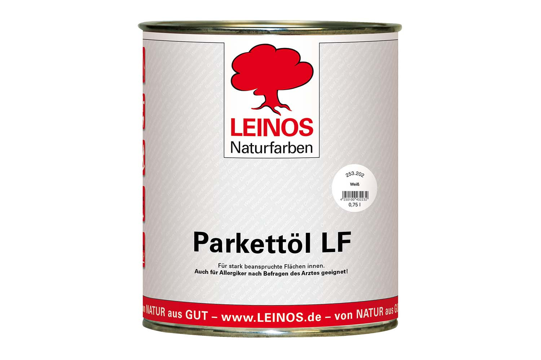 Leinos Parkettöl lösemittelfrei 253 Weiß
