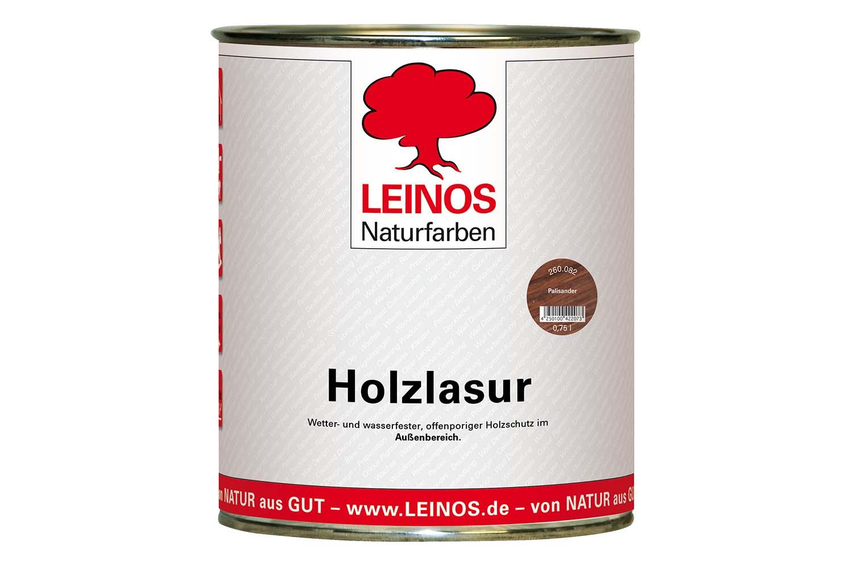 Leinos Holzlasur für außen 260 Palisander