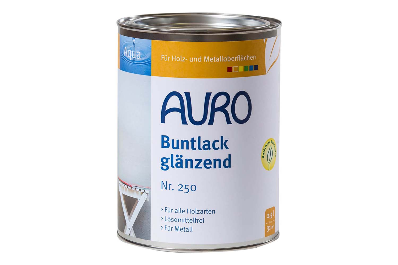 Auro Buntlack glänzend Nr. 250 - Englisch-Rot