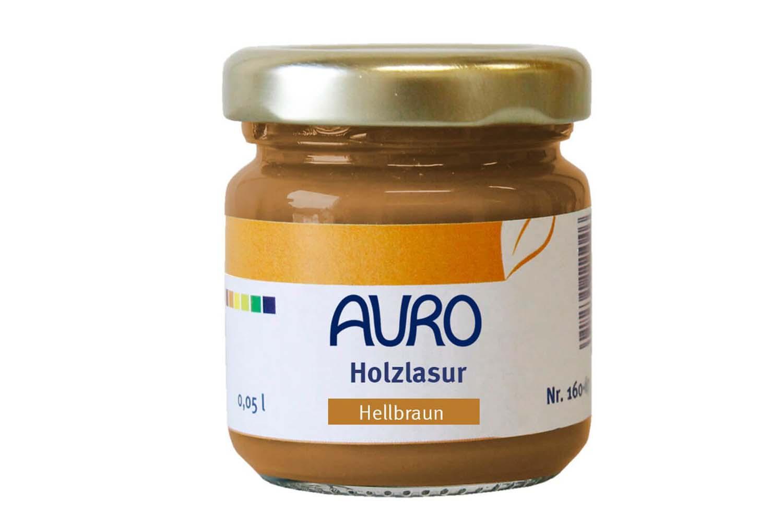 Auro Holzlasur Aqua Nr. 160 - Hellbraun