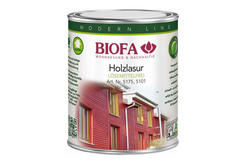 Biofa Holzlasur, farblos, lösemittelfrei