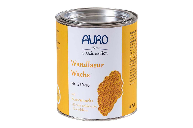 Auro Wandlasur- Wachs Nr. 370 - Mineral-Weiß