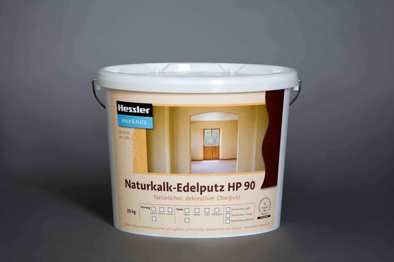 Hessler HP 90 Naturkalk-Edelputz naturweiß