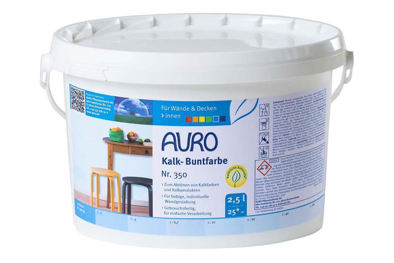 Auro Kalk-Buntfarbe Nr. 350 - Lichtblau