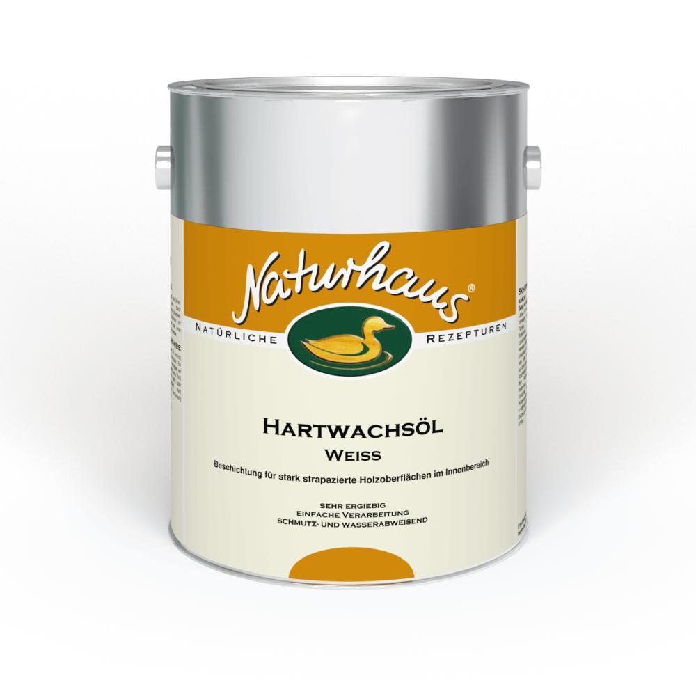 Naturhaus Hartwachsöl weiß
