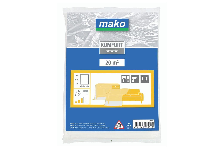 Mako Malerplane mittelstark