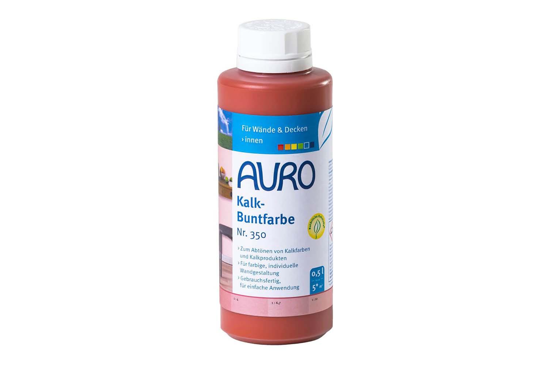 Auro Kalk-Buntfarbe Nr. 350 - Terracotta