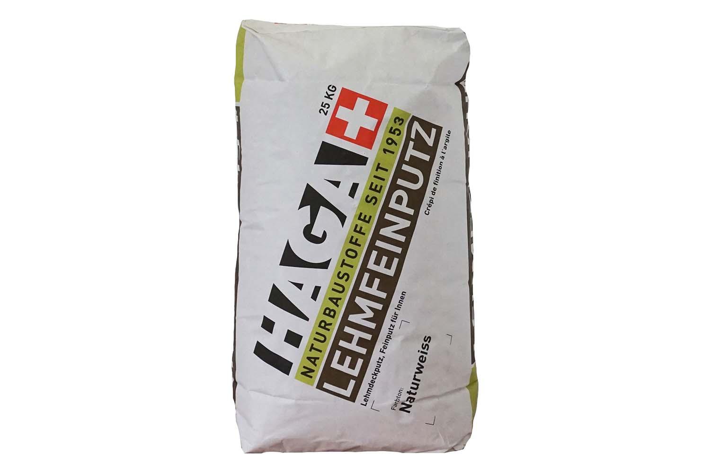 HAGA Lehm-Feinputz naturweiss