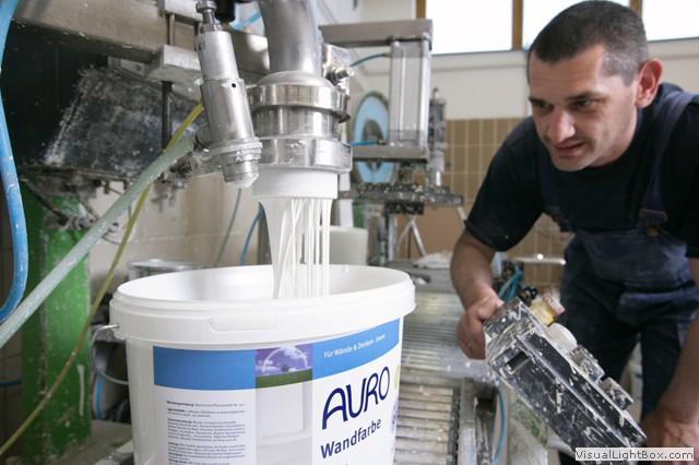 Auro Produktion und Etikettierung
