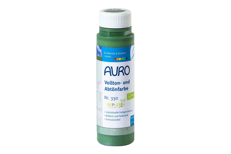 Auro Vollton- und Abtönfarbe Nr. 330 - Chromoxid-Grün