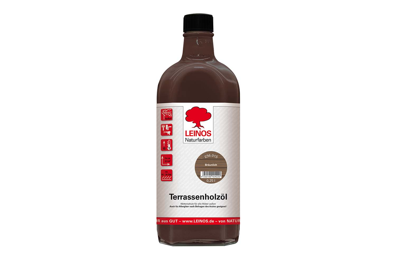 Leinos Terrassenholzöl 236 Bräunlich