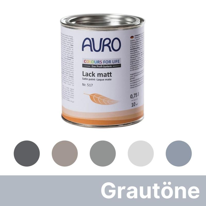 Auro Colours for Life Lack matt - Grau